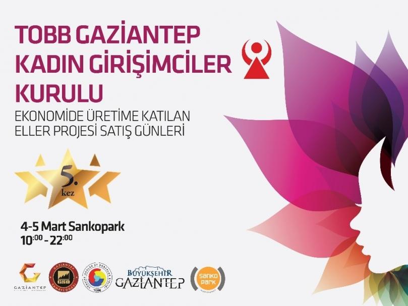 Gaziantep'in en güçlü kadınları Sanko Park'ta
