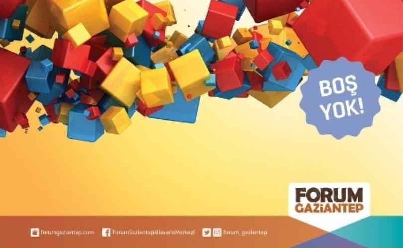 Forum Gaziantep kazandırıyor
