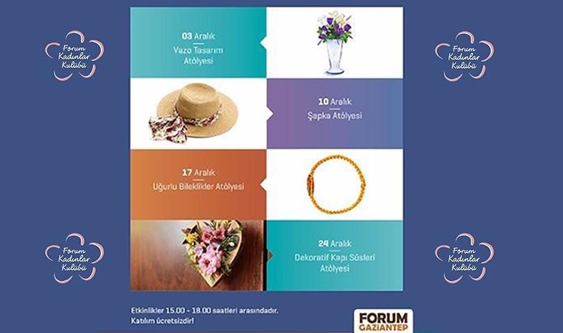 Forum Gaziantep'ten Kadınlara Müjde