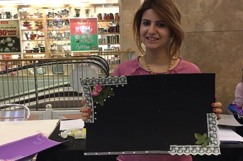 Amerikan servisleri Gaziantepli kadınların dokunuşlarıyla renklendi