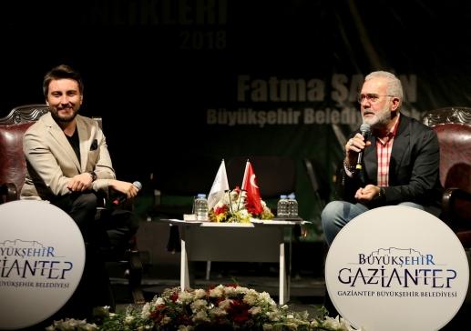 Payitaht Abdülhamid Dizisi'nin Tahsin Paşası Gazianteplilerle Buluştu